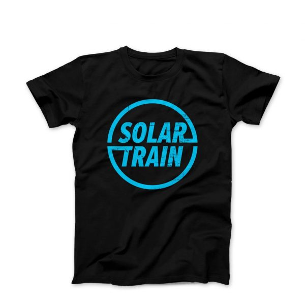 Tony Solar Train T Shirt Blue -
