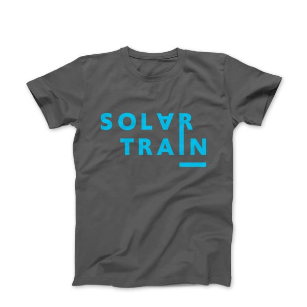JH Solar Train T Shirt Blue -