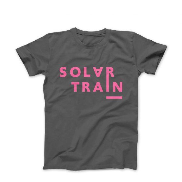 JH Solar Train T Shirt Pink -
