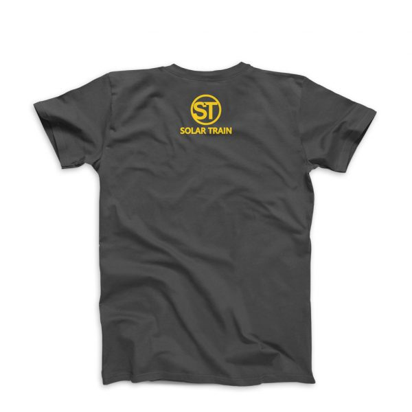 JH Solar Train T Shirt Yellow -