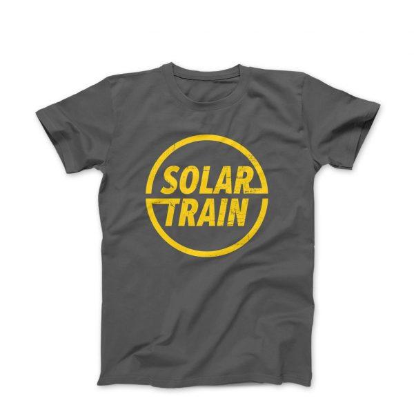 Tony Solar Train T Shirt Yellow -